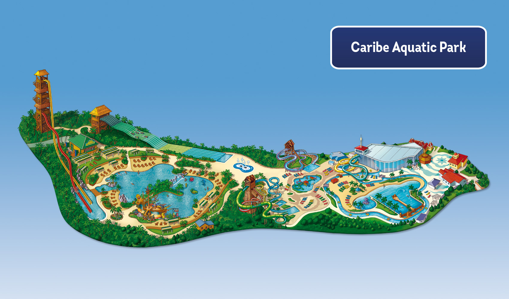 Mapa Port Aventura 2019.Portaventura Caribe Aquatic Park Portaventura World