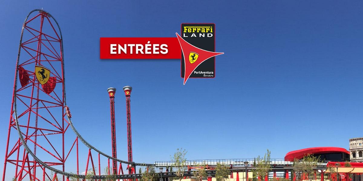 Entrées Ferrari Land Le Seul Parc En Europe Dédié A Ferrari