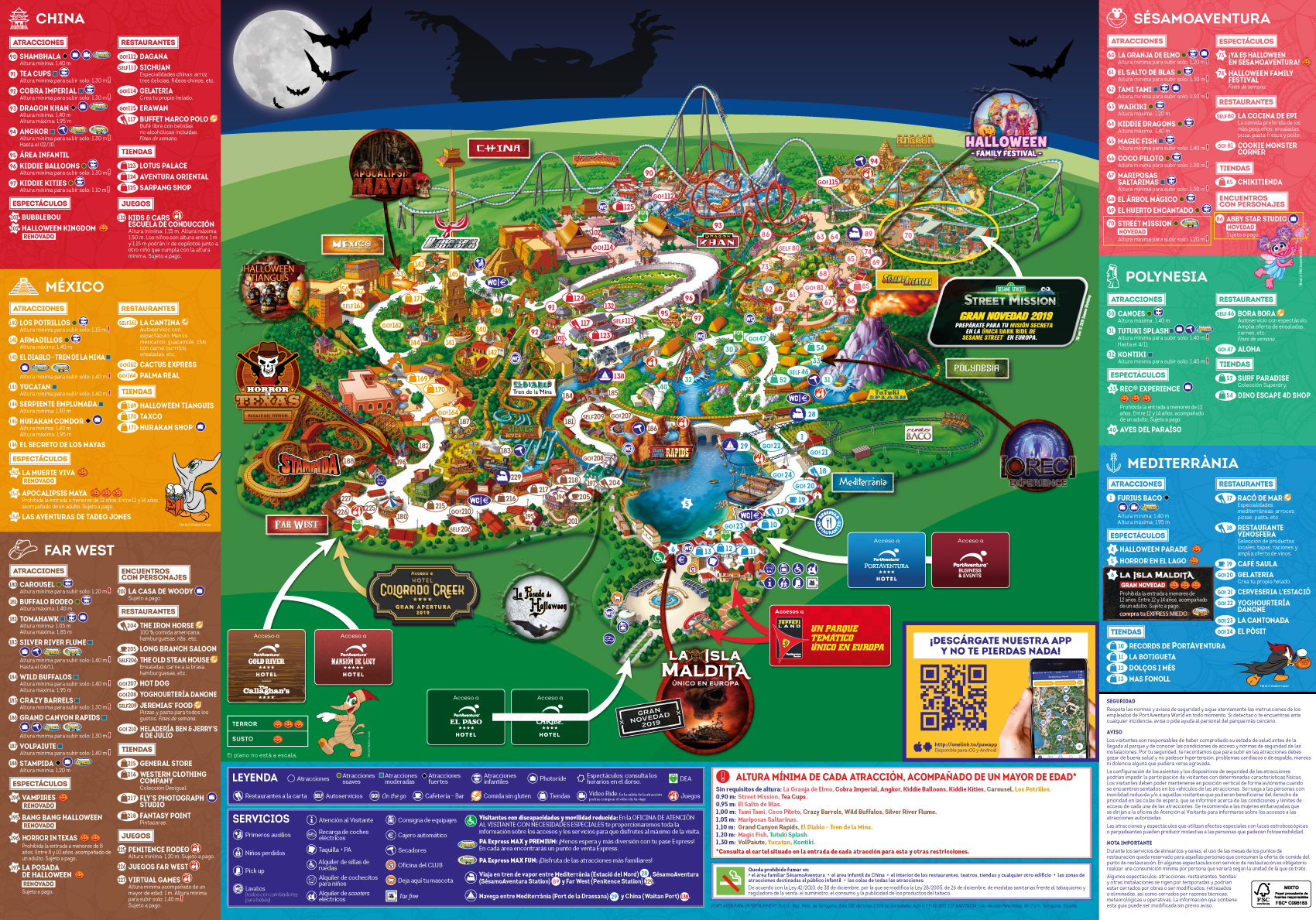 Mapa Port Aventura 2019.Halloween En Portaventura Park Portaventura World